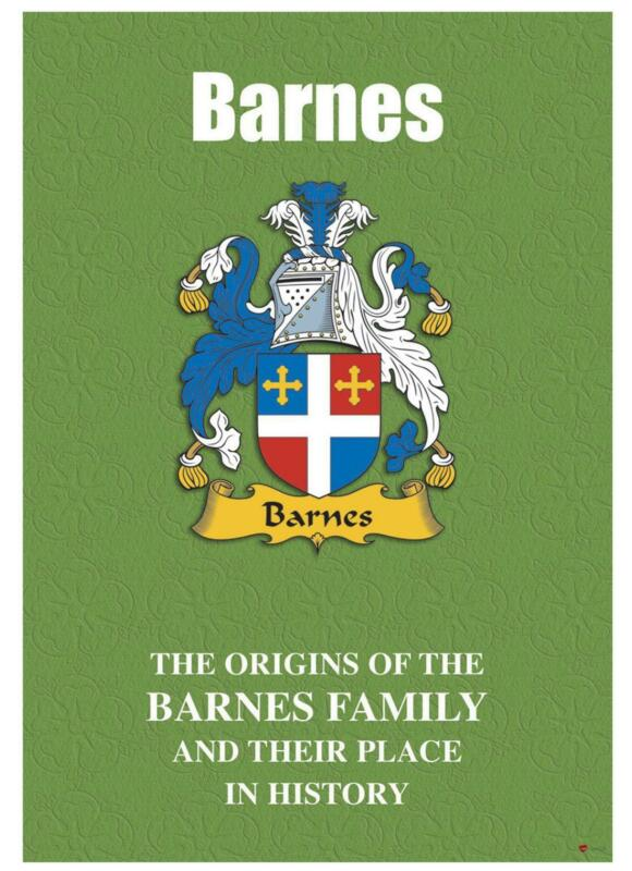 Barnes+English+Surname+History+Booklet+with+Historical+Facts+of+this+Famous+Name