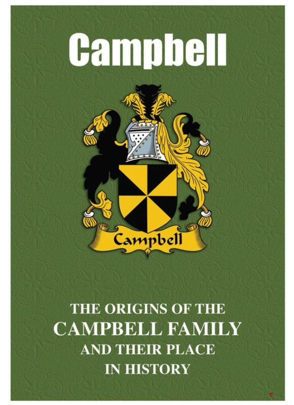 Campbell+English+Surname+History+Booklet+with+Historical+Facts+of+the+Name