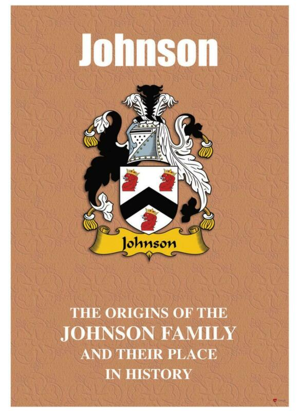 Johnson+English+Surname+History+Booklet+with+Historical+Facts+of+the+Name