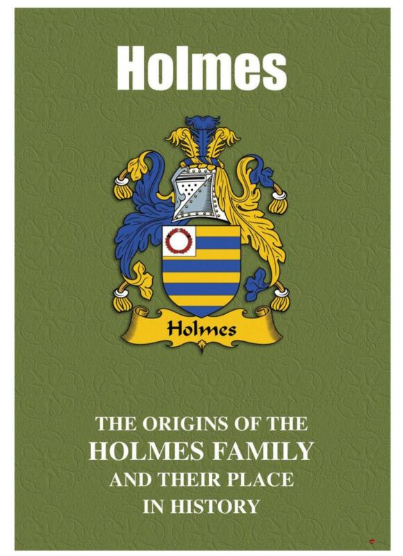 Holmes+English+Surname+History+Booklet+with+Historical+Facts+of+this+Famous+Name