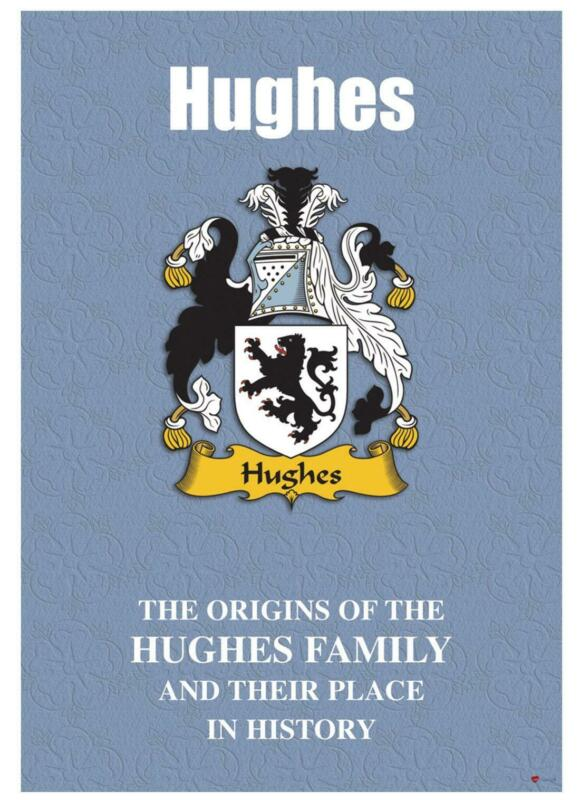 Hughes+English+Surname+History+Booklet+with+Historical+Facts+of+this+Famous+Name