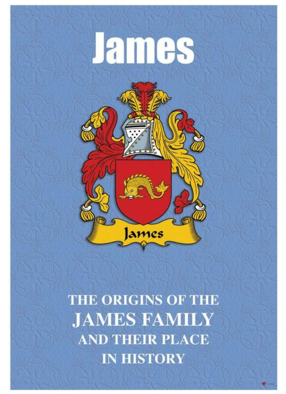 James+English+Surname+History+Booklet+with+Historical+Facts+of+this+Famous+Name