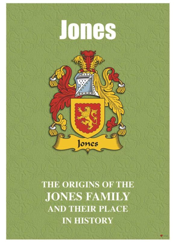 Jones+English+Surname+History+Booklet+with+Historical+Facts+of+this+Famous+Name