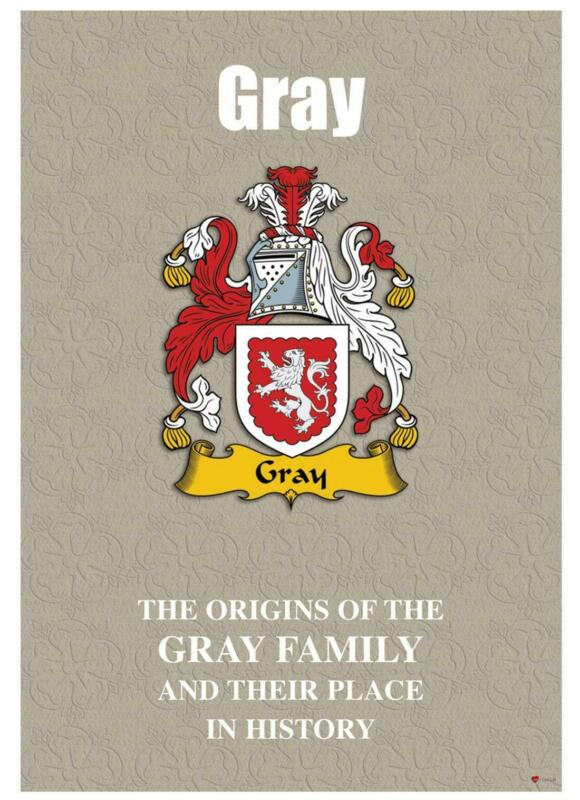 Gray+English+Surname+History+Booklet+with+Historical+Facts+of+this+Famous+Name