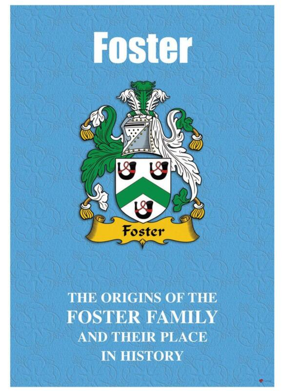 Foster+English+Surname+History+Booklet+with+Historical+Facts+of+this+Famous+Name