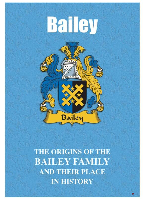 Bailey+English+Surname+History+Booklet+with+Historical+Facts+of+this+Famous+Name