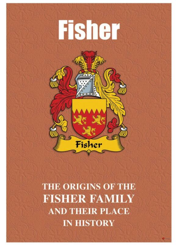 Fisher+English+Surname+History+Booklet+with+Historical+Facts+of+this+Famous+Name