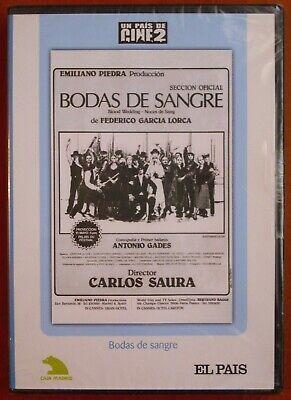 Bodas de Sangre [DVD] EL PAÍS, Carlos Saura,Antonio Gades,Cristina Hiyos ¡NUEVO!