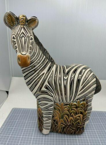 DeRosa Rinconada Large Wildlife  Zebra Gold and Platinum Color Accent