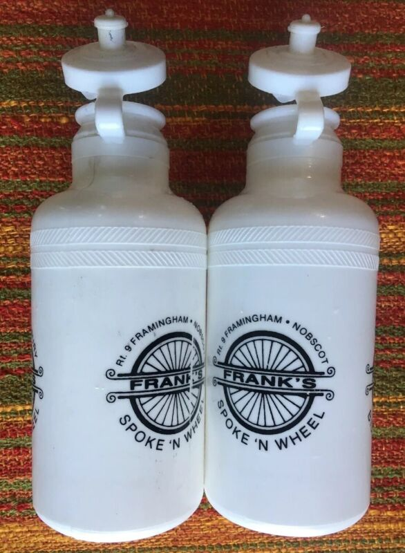 2- NOS Vintage 1984 SPECIALIZED Water Bottles BIDON Botella BORRACCIA Flasche