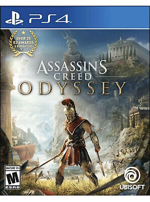 Assassins Creed Odyssey Playstation 4 PS4 Brand New Factory Sealed