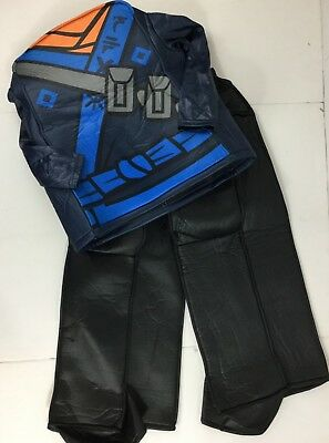 Jay Ninjago Costume (Lego Ninjago Jay Minifigure Costume Boys Medium NWOT Tunic Pants)