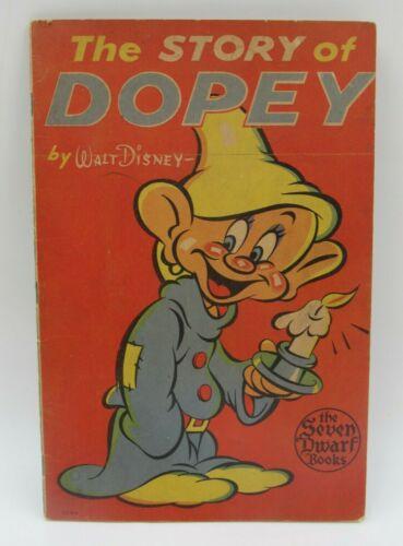 The Story of Dopey Book Walt Disney Whitman Publishing 1938