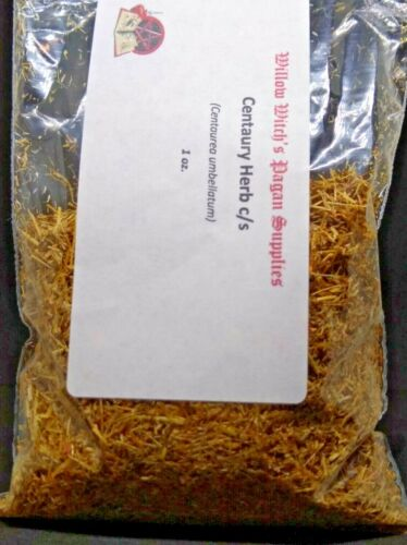 Centaury Herb c/s 1 Ounce Wicca Witchcraft Hoodoo Voodoo Pagan