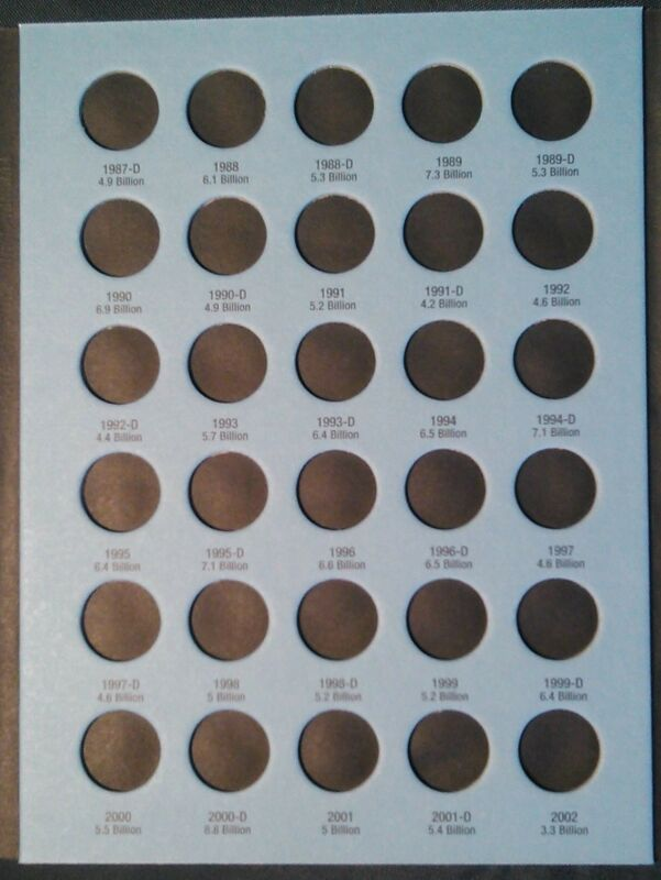 Whitman Lincoln Cent # 3 /& 4 1975-2015 Coin Folders Albums Books