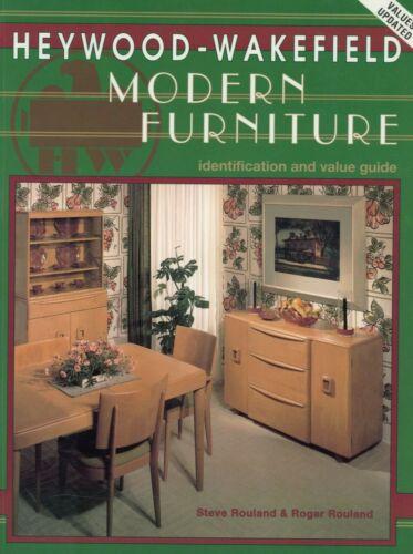 Heywood Wakefield Modern Furniture – Models Dates Dimensions Etc / Book + Values