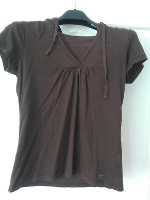 ESP ESPRIT schönes Shirt Hoodie Kapuze T-Shirt gebraucht kaufen  Versand nach Austria