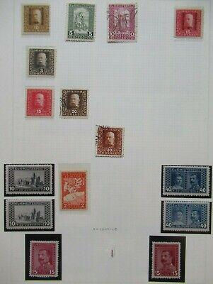 EARLY LOT BOSNIA HERZEGOVINA BOSNIEN HERCEGOVINA VF MNH/MLH/USED B377.80 ST$0.99