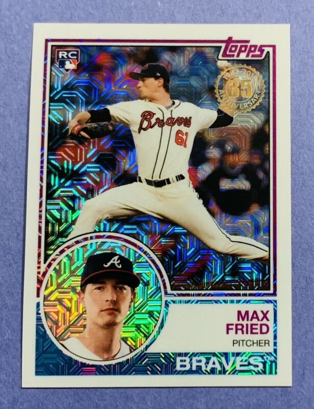 2020 Topps Heritage New Age Performers #NAP-23 Max Fried Atlanta Braves Baseball Card NM-MT