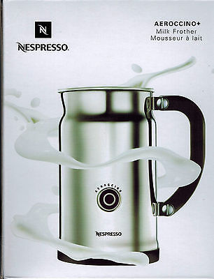 NEW Nespresso Aeroccino+ Plus 3192-US Automatic Electric Milk Frother Aeroccino