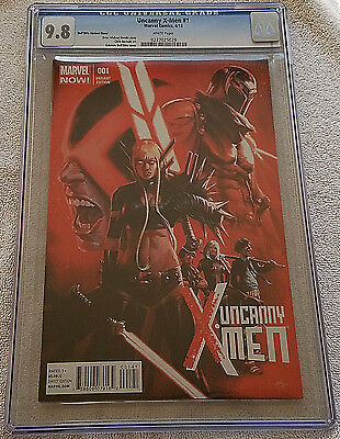 Uncanny X-Men #1, 1:50 Dell'Otto Retailer Variant CGC 9.8 NM/MT Marvel 2013