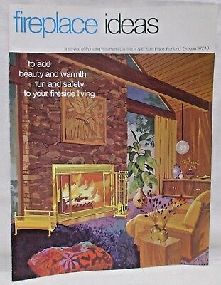Vintage 1974 Fireplace Ideas Portland Williamette Company Catalog Screens (Catalog Party Ideas)