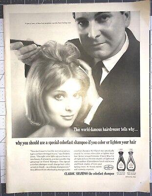 Life Magazine Ad CLAIROL SHAMPOO the colorfast shampoo