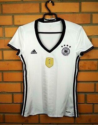 e3de6bc5f Germany soccer women jersey small 2016 2017 shirt AA0137 football Adidas