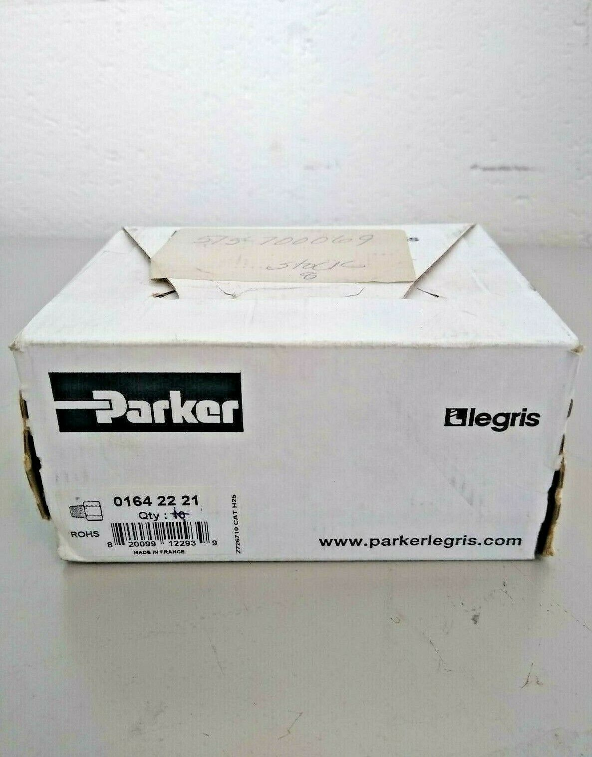 Parker 0164 22 21 Adaptor, Male NPT/Female BSPP Thread Box Of 8  - $14.99