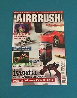 Airbrush Dezember/Januar 1/2018 Nr.52 ungelesen 1A absolut TOP