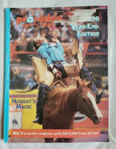 1990 Year-End Edition Prorodeo Sports News; Murray