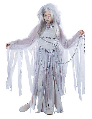Haunted Beauty Ghost Spirit Child - Childrens Ghost Costumes