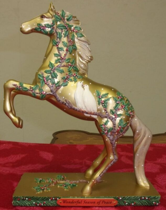 Trail of Painted Ponies WONDERFUL SEASON OF PEACE Christmas Horse~2017 New Box