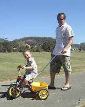 Push Handle Bar Kids Tricycle Assistance handle Robina Gold Coast South Preview