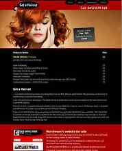 Hairdresser's Website & Domain Palmwoods Maroochydore Area Preview