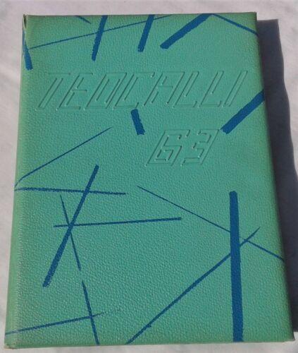 """TEOCALLI"" 1963 MARK KEPPEL H.S ALHAMBRA CALIF. ORIGINAL HIGH SCHOOL YEARBOOK"