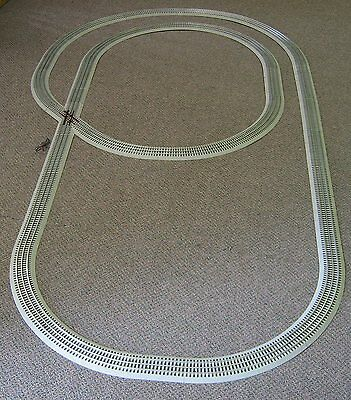Used, LIONEL TWICE AROUND FASTRACK TRACK SET train o gauge inner loop 6-30142-T NEW for sale  Indiana