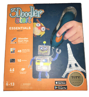 3Doodler Start Essentials Kit 3D Pen Set Drawing Tool Ages 6-13 New -TOTY WINNER