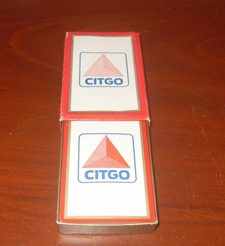 Vintage 1960s CITGO Gas Station Give Away Playing Cards
