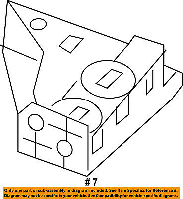 CHRYSLER OEM 15-17 200 Radiator Core Support-Lower Bracket 68376655AA