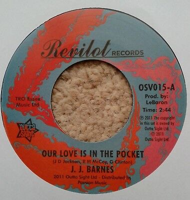 NORTHERN SOUL - J. J. BARNES – OUR LOVE IS IN THE POCKET