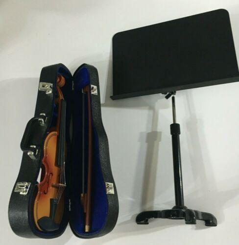 American Girl F5300 Doll Violin Music Stand Violin Case