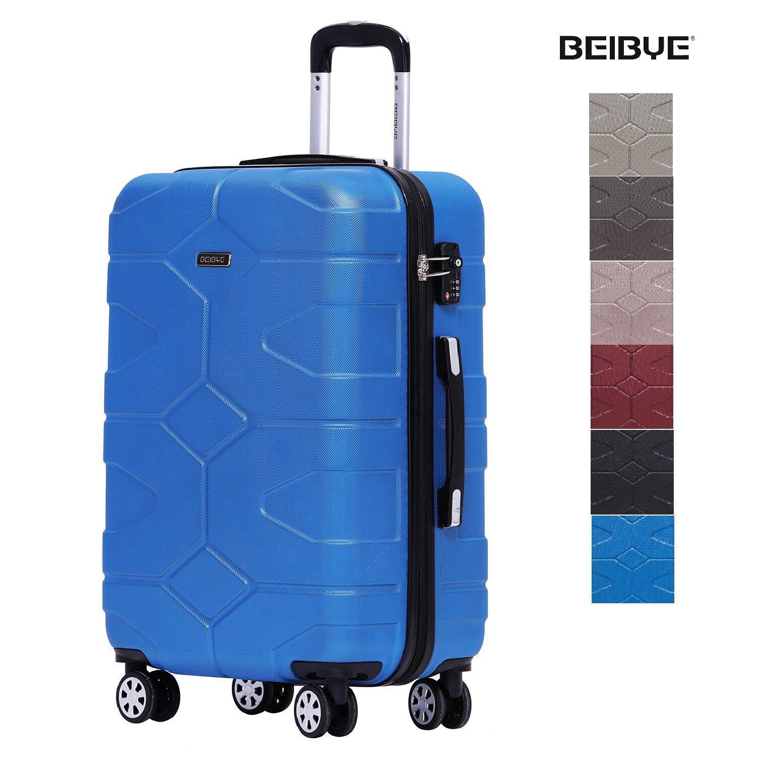 TSA Schloß 2035  Reisekoffer Handgepäck  Koffer Trolley M-L-XL-SET / 6 Farben