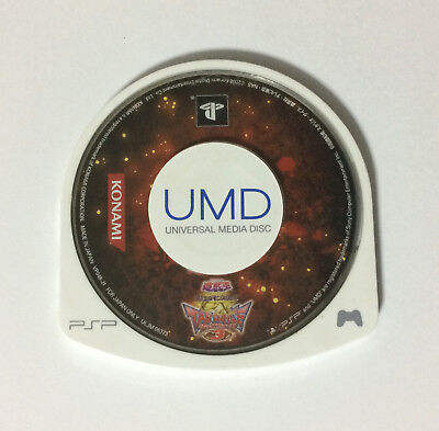 USED PSP Disc Only Yu-Gi-Oh Duel Monsters GX Tag Force 3 JAPAN Sony PS Portable