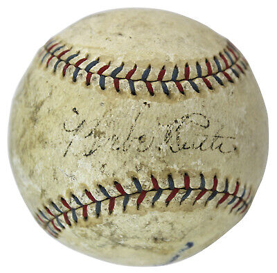 Yankees Babe Ruth Signed Authentic 1926-27 Era OAL Ban Johnson Baseball PSA/DNA, used for sale  Shipping to Canada