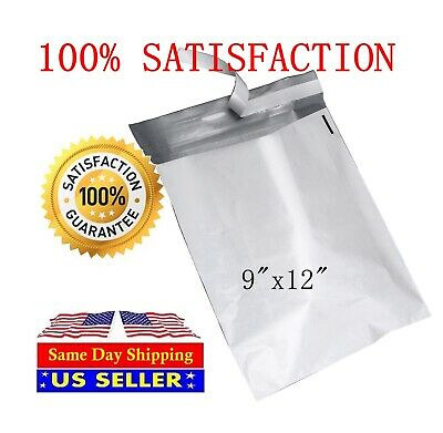 200 9x12 Poly Mailer Self Sealing Shipping Envelopes Mail Bags - St Shipmailers