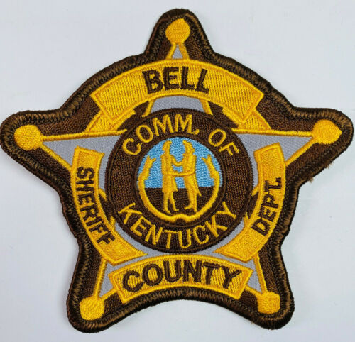 Bell County Sheriff Kentucky KY Patch (A3)