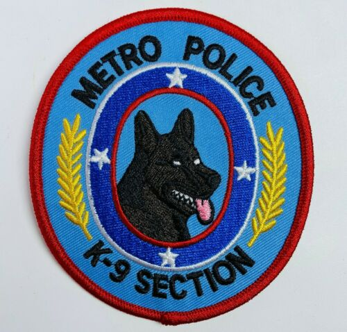 K9 Section Metro Police Nashville Canine Unit Tennessee TN Patch (A2)