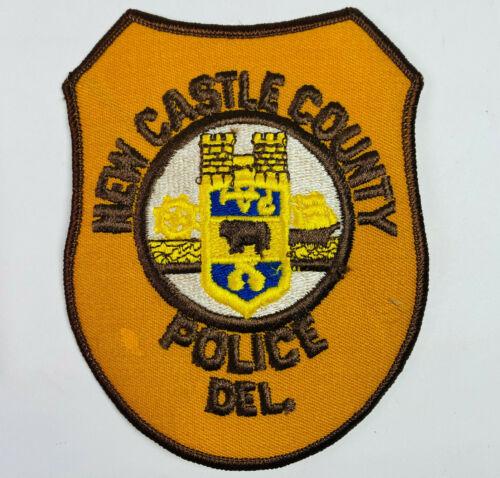 New Castle County Police Delaware DE Patch (A)