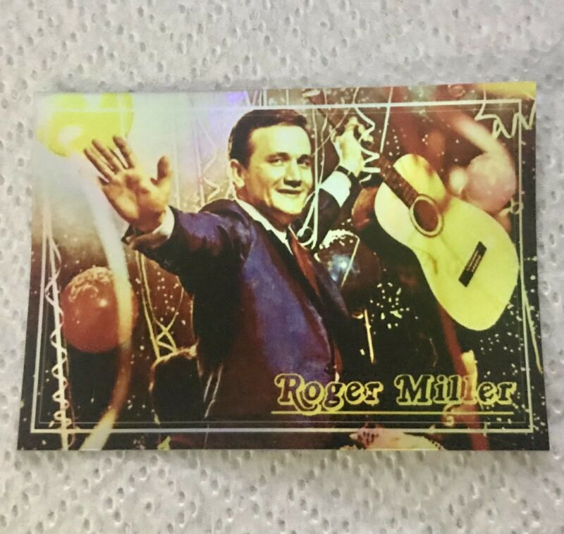 """ROGER MILLER 3X4"""" HOLO-DECAL/STICKER Vintage/Retro Design! CLASSIC COUNTRY!"""